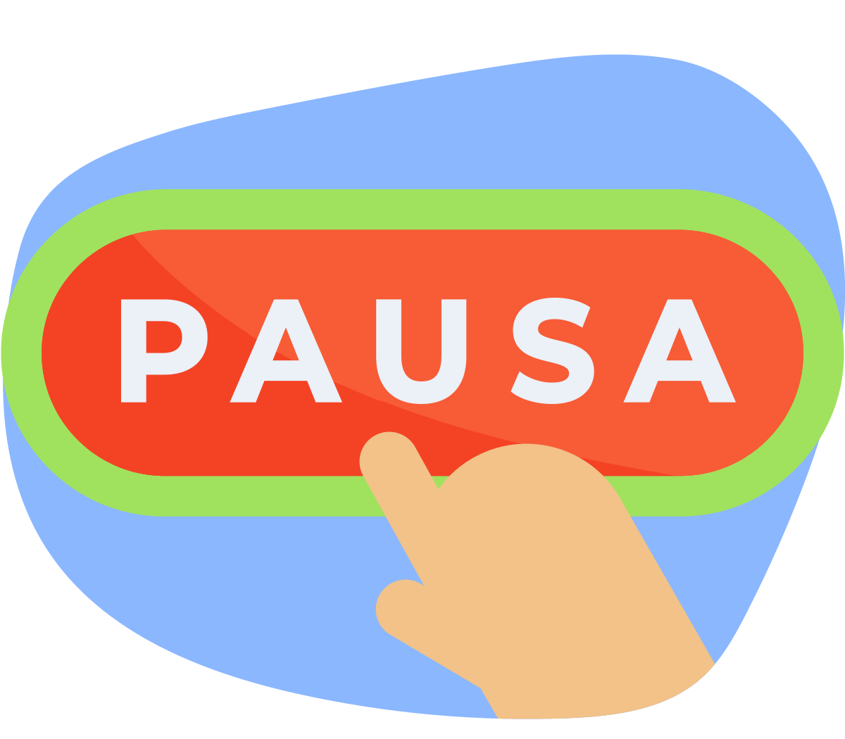 Pressing a pause button
